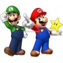 stickers autocollant Mario et Luigi réf 15032