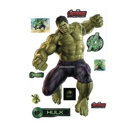 Stickers Hulk Avengers 28x40cm 15036