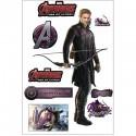 Stickers Hawkeye Avengers 27x40cm 15035