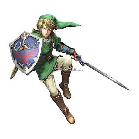 stickers autocollant Zelda réf 15027