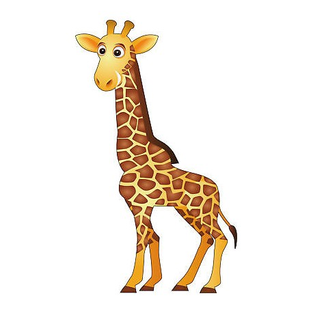 animated baby giraffe