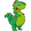 Sticker pour enfant Dragon réf 621