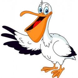 Sticker enfant Pelican réf 834