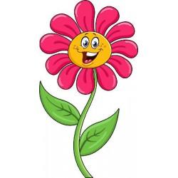 Sticker enfant fleur réf 826