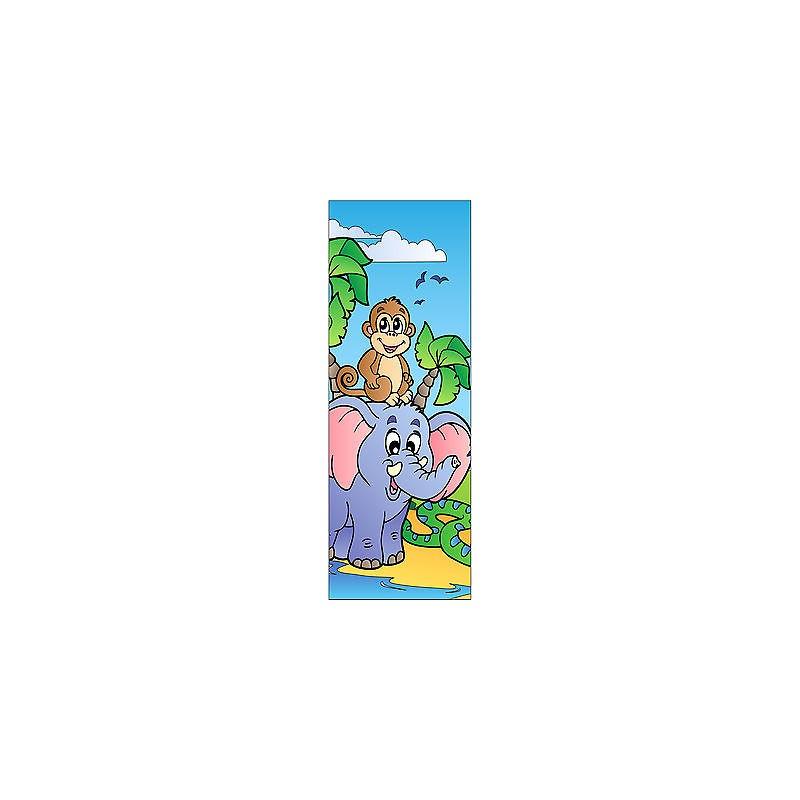 Sticker Enfant Animaux Pour Porte Plane Ou Mural R F704 Stickers Muraux Enfant