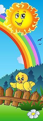Sticker enfant Soleil porte plane ou mural réf 714