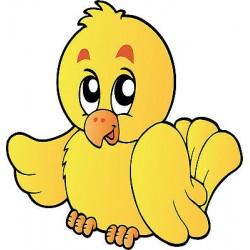 Sticker enfant Oiseau réf 817