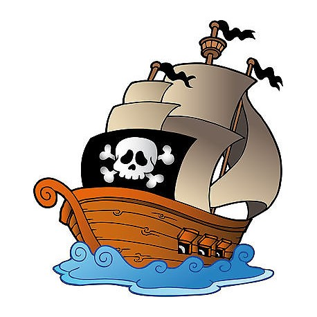 sticker enfant bateau pirate r u00e9f 821 stickers muraux enfant viking clipart logos vikings clip art to disguise turkey