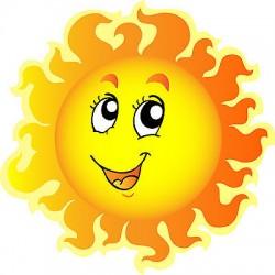 Sticker enfant soleil réf 822