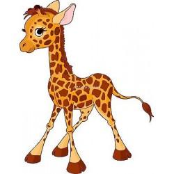 Sticker enfant Bébé Girafe réf 901