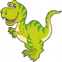 Sticker enfant Dinosaure réf 923