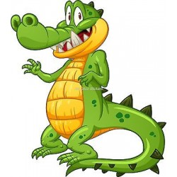 Sticker enfant Crocodile réf 921