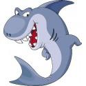 Sticker enfant Shark réf 917