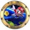 Sticker hublot enfant Mario réf 9557