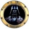 Sticker hublot enfant Star Wars Dark Vador 9565