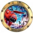 Sticker hublot enfant Big hero 9529