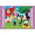 Sticker enfant fenêtre Mickey et Minnie réf 948 948