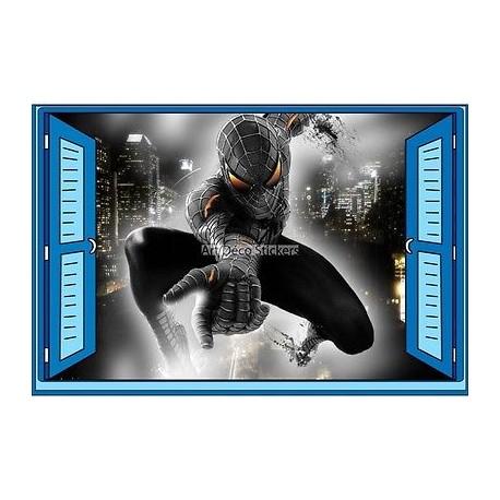 Sticker enfant fenêtre Spiderman réf 944 944