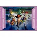 Sticker enfant fenêtre Toy Story réf 940 940