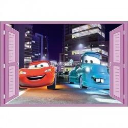 Sticker enfant fenêtre Cars réf 939 939
