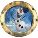 Sticker hublot enfant La Reine des Neiges 9545