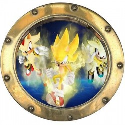 Sticker hublot enfant Dragon Ball Z 9540