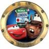 Sticker hublot enfant Cars 9537