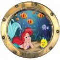 Sticker hublot enfant La Petite Sirène 9534