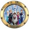 Sticker hublot enfant La Reine des Neiges 9516