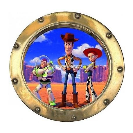 Sticker hublot enfant Toy Story 9528