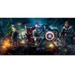 Stickers chambre d'enfant tête de lit Avengers réf 8506