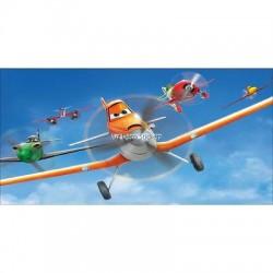 Stickers chambre d'enfant tête de lit Planes réf 8505