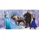Stickers chambre d'enfant tête de lit La Reine des Neiges réf 8500
