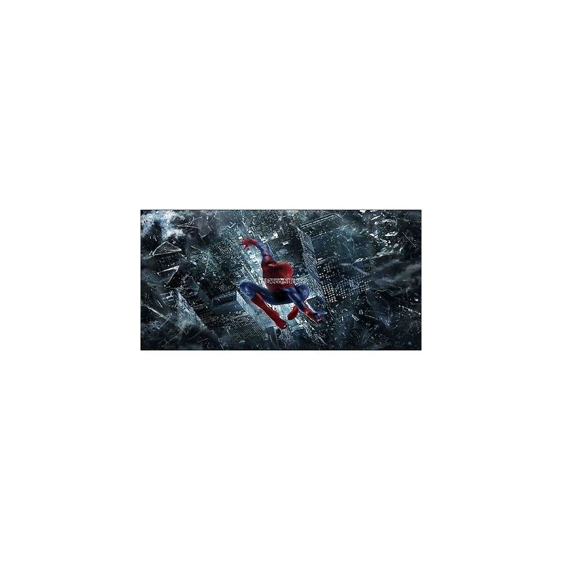 Stickers chambre d 39 enfant t te de lit spiderman r f 8488 - Tete de spiderman a imprimer ...