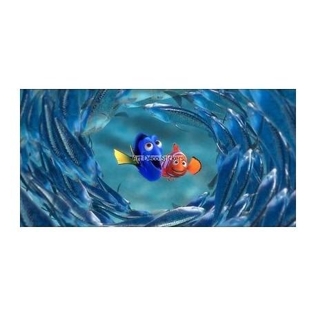 Stickers chambre d'enfant tête de lit NEMO réf 8469