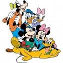 Sticker enfant Mickey et ses amis réf 9536