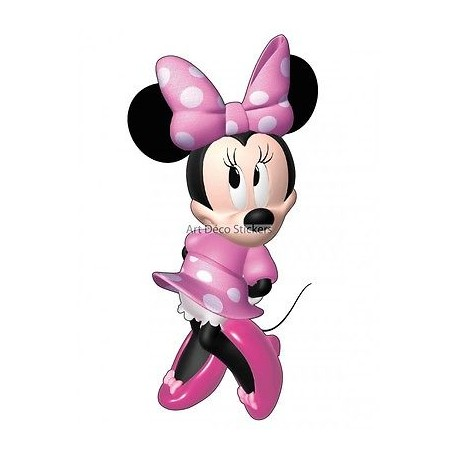 Sticker enfant Minnie 9529