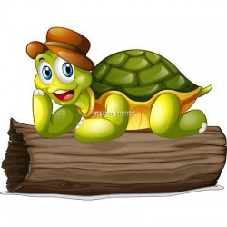 Sticker enfant Tortue 3705