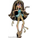 Stickers enfant géant Monster High réf 8890 (30 dimensions)