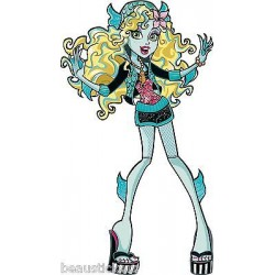 Stickers enfant géant Monster High réf 8887 (30 dimensions)