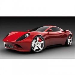 Sticker autocollant Voiture déco murale Ferrari 105