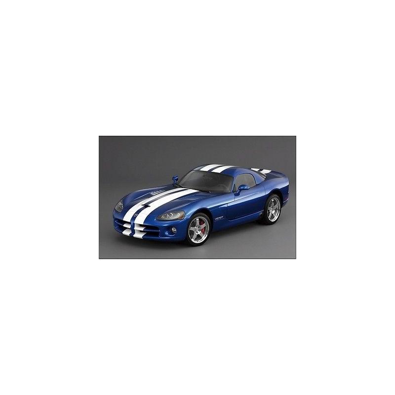 sticker autocollant voiture d co murale viper bleu 102. Black Bedroom Furniture Sets. Home Design Ideas