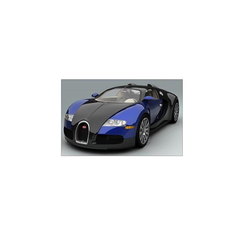 sticker autocollant voiture bugatti veyron bleu sport. Black Bedroom Furniture Sets. Home Design Ideas