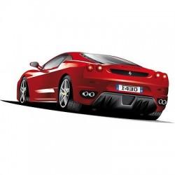 Sticker autocollant Ferrari 030