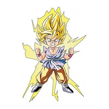 Sticker enfant Manga 9527