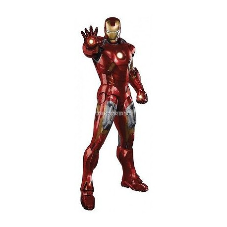 Sticker Iron Man Avengers 3101
