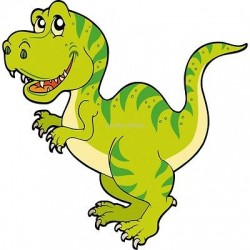 Sticker enfant Dinosaure 923