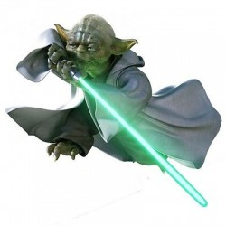 Sticker enfant Yoda Star Wars