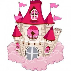 Sticker enfant Chateau E454