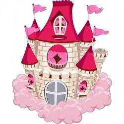 Sticker enfant Chateau E454